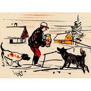 Krmení psů (Vánoce)