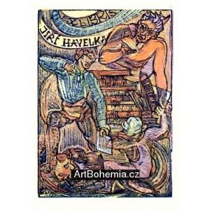 Démon pokoušející bibliofila