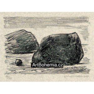 Dva menhiry a koule