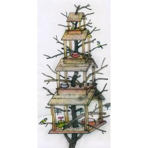 Čtyřstupňová ptačí hnízda - PF 2008 Pavel Sivko