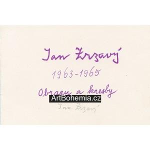 Obrazy a kresby 1963-1965 - titul