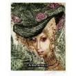 Má dáma v květinovém klobouku