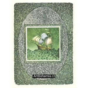 Koráb - Tri princezné v Belasej skale