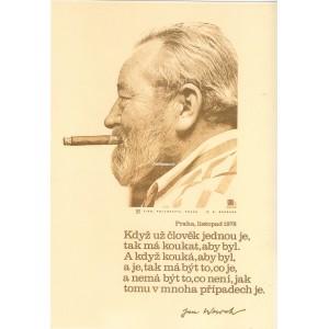 Jan Werich s doutníkem: Když už člověk jednou je… (1978)