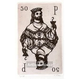 Karta krále 50, opus 1045