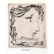 Slzící dívčí profil, opus 1148