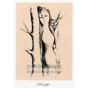 Dívka u stromu, opus 1267