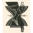 Královna Nefertiti s anchem (Sfinga)