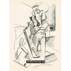 Kubistické zátiší (1921)