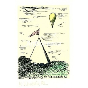 Stan a balón nad krajinou