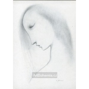 Profil se zavřenýma očima (Píseň lásky)