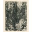 Satyr zpívá hymnus na les