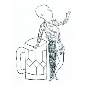 Figura s pivem (1926)