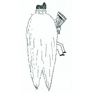 Karikatura Josefa Holečka (1927)