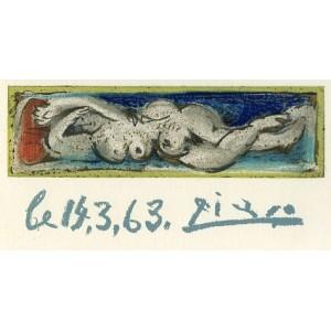 Madame Troix - Femme nue couchée (Les Dames de Mougins)