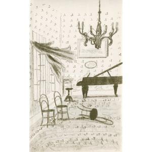 Salón s klavírem