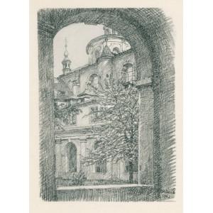Z ambitu Tomášského kláštera (1943)