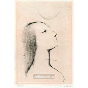 Dívčí profil, opus 995