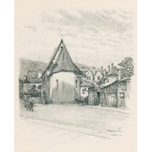 """Kostel sv.Jana Křtitele """"Na prádle"""" (1944)"""