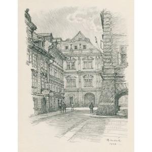 Radnice z Tomášské ulice (1944)