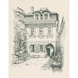 Rodný dům Kiliána Ignáce Diezenhofera (1944)