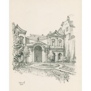 Salla terrena v Ledebourském paláci (1944)