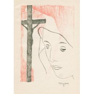 Dívka s křížem