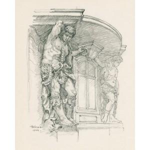 Maurové na Morzinském paláci (1944)