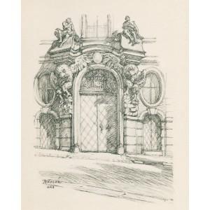 Portál na Thunovském paláci (1943)