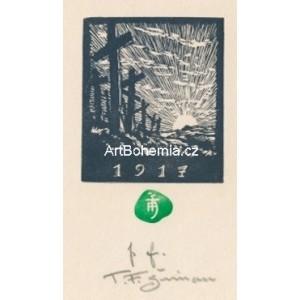 Hřbitovní kříže - PF 1917 T.F.Šimon
