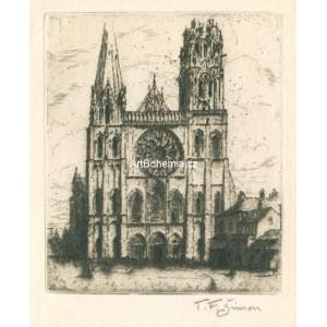 Basilique Cathédrale Notre-Dame de Chartres - Katedrála v Chartres