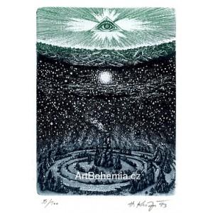 Boží oko nad krajinou (Genesis) (Biblos)