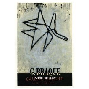 G.Braque - Galerie Maeght, 1956 (Les Affiches originales)