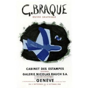 Oiseau des forets (Oeuvre graphique a la Galerie Nicolas Rauch, 1958), opus 50 (