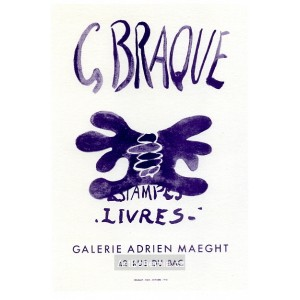 Estampes-Livres - Galerie Adrien Maeght, 1958 (Les Affiches originales)