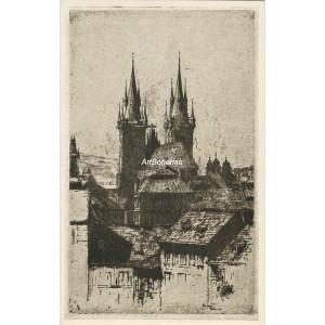 Týn od východu (1914) (Krásná Praha II)