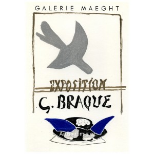 Exposition G.Braque - Galerie Maeght, 1959 (Les Affiches originales)