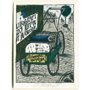 Litografické kameny na vozíku - EXL Tomáš Svoboda