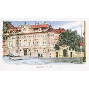 Faustův dům na Karlově náměstí v Praze