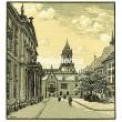 Principálne námestie v Bratislave (Slovensko)