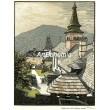 Nádvorie v Oravskom zámku (Slovensko)