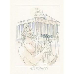 Apollón hrající na lyru