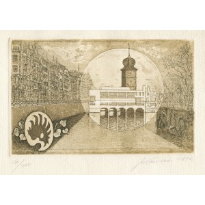 Šítkovská vodárenská věž a Mánes