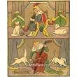 Král, král, na dudy hrál, králová za času vrzala na basu... (Národní říkadla)