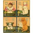 Psala Ančička, čte po ní kočička... (Národní říkadla)