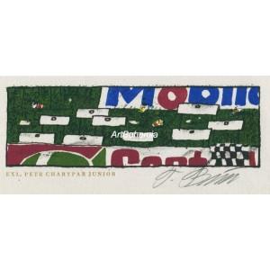 Castrol Mobil Oil II - závodní dráha