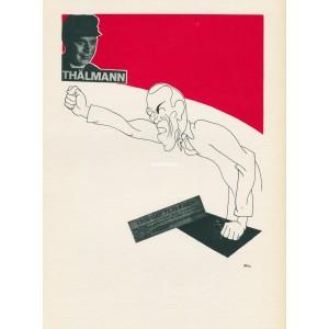 Básník Nikolaj Tichonov žádá svobodu pro E.Thälmanna (1934) (Visages)