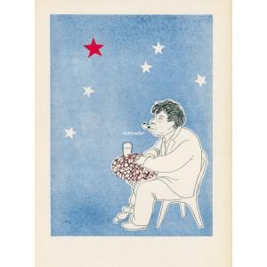 Ilja Ehrenburg sní v Paříži o Moskvě (1934) (Visages)