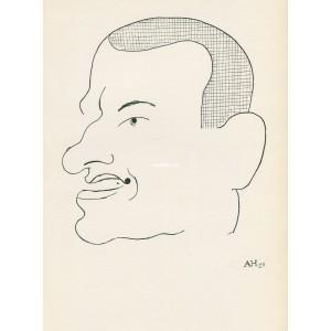 Hlava Vladimíra Majakovského (1927) (Visages)