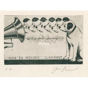 His Master´s Voice - Ex Musicis Jiří Anderle